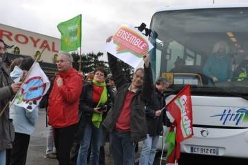 Des Poitevins ont manifesté à Nantes contre la construction de l'aéroport de Notre-Dame-des-Landes