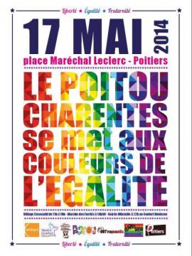 marche des fiertés Poitou-Charentes @ place d'armes | Poitiers | Poitou-Charentes | France