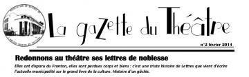 La gazette du Théâtre n°2