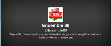 Nouveau : abonnez-vous au twitter d'Ensemble86