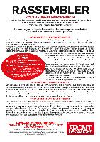 Ensemble le 6 février contre le libéralisme, pour une alternative