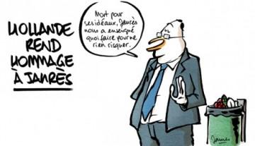 Vivre selon quelques idéaux comme Jaurès et d'autres, ou bien... admirer Hollande et le PS.