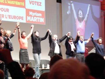 Meeting régional du Front de Gauche à Niort
