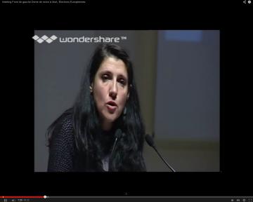 Vidéo de Myriam Martin au meeting Front de Gauche de Niort