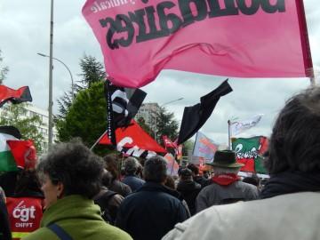 Photos du 1er mai à Poitiers