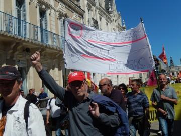 Photos de la manifestation de la Fonction publique à Poitiers