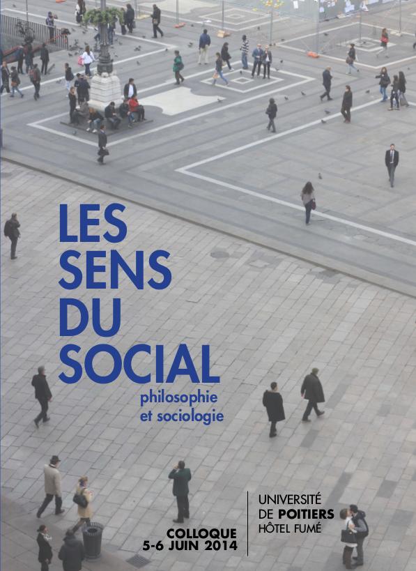 colloque les sens du social philosophie et sociologie reve 86. Black Bedroom Furniture Sets. Home Design Ideas