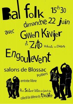 Bal folk pour la défense de l'ancien Théâtre de Poitiers