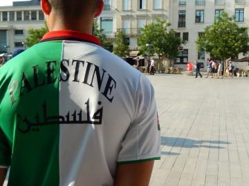 Photos de la manifestation à Poitiers contre l'agression israélienne
