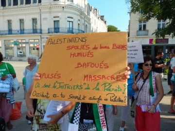 Appel Châtelleraudais pour une paix juste et durable entre Israéliens et Palestiniens