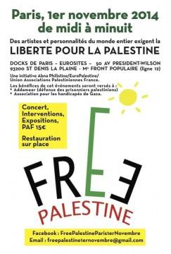 Free Palestine à Paris @ Paris