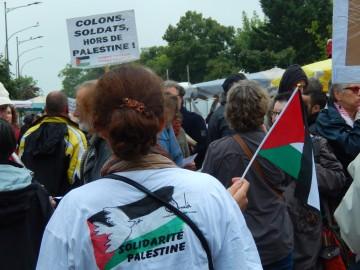 Jeudi 17 juillet : rassemblement pour la Palestine