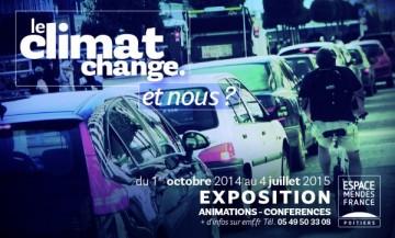 Exposition à Poitiers « Le climat change. Et nous ? »
