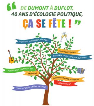 40 ans d'écologie politique, ça se fête