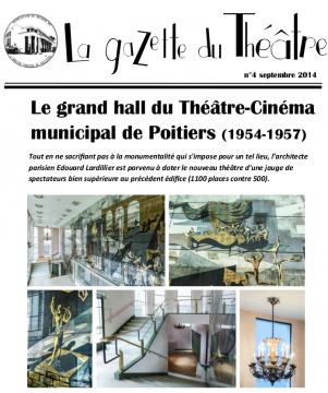 La gazette du Théâtre n°4
