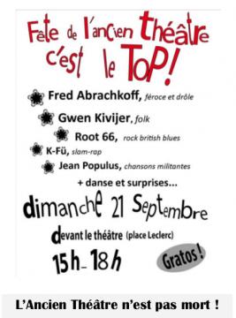 Fête de l'ancien Théâtre de Poitiers