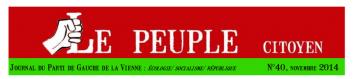 Le journal local du Parti de Gauche