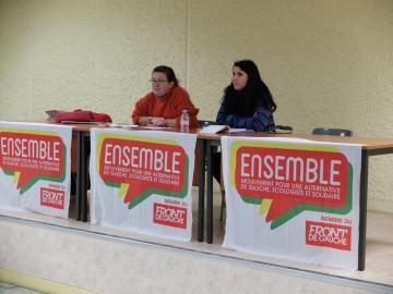 Le programme d'Ensemble; Myriam Martin.