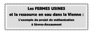 Méthane et captage des eaux de Poitiers