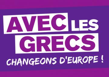 Tract syndical de solidarité avec les grec.ques