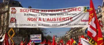 """Appel de SYRIZA-PARIS. """"Ce 1er Mai passons à l' offensive !"""""""