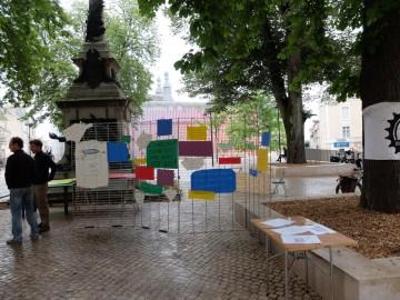 Photo du pique nique pour le Climat à Poitiers
