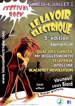 Festival rock le lavoir électrique @ Vouneuil sous BIard