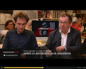 Vidéo Médiapart : Zone euro ou Grexit ?