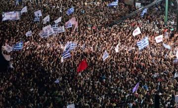 Discours d'Alexis Tsipras le 3 juillet à Athènes