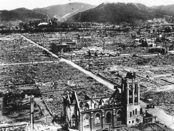 tract de la Coordination  pour la 71e commémoration des victimes des bombardements de Hiroshima et de Nagasaki