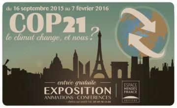"""expo """"COP 21 – Le climat change. Et nous ?"""" @ espace Mendès France   Poitiers   France"""