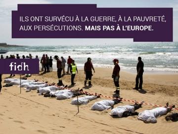 Rassemblement : Assez de morts aux portes de l'Europe !