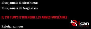 ICAN France condamne le tir d'essai du missile M51
