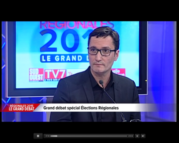 Vidéo du débat entre les candidats  aux élections régionales