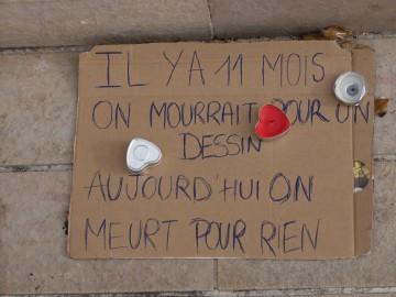 Photos place d'Armes, Poitiers, 16 novembre, 13h56