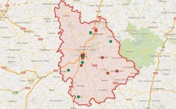 La carte des candidates et candidats du Front de gauche