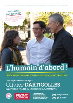 12 pages régionales du Front de Gauche
