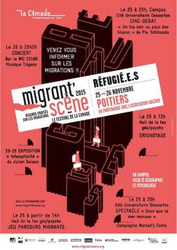 """Migrant'scène Grignotage et Jeu """"Parcours du migrant"""""""