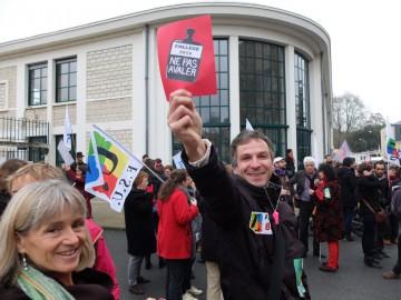 Photos de la manifestation des fonctionnaires