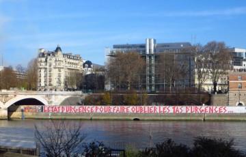 Manifestations contre l'état d'urgence à Poitiers et Châtellerault
