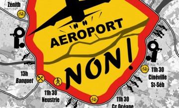 Manifestation à Nantes contre l'aéroport de Notre Dame des Landes