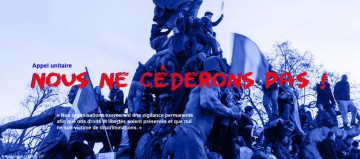 Tract d'appel à la manifestation contre l'état d'urgence
