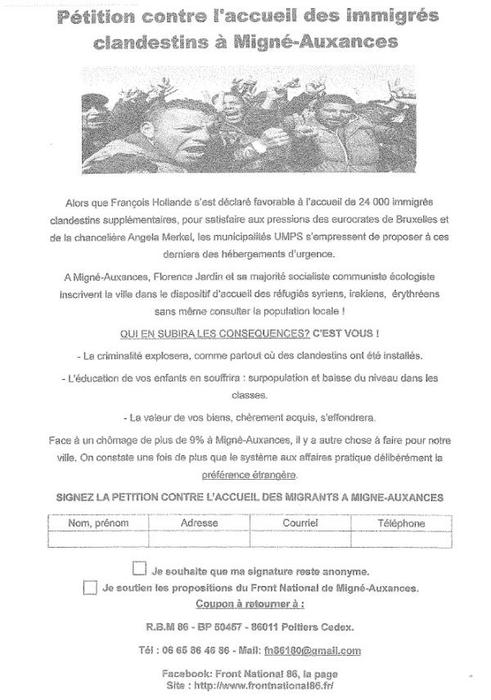 Tract-anti-migrants-la-commune-de-Migne-Auxances-porte-plain