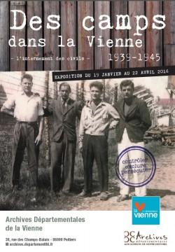 Des camps dans la Vienne (1939-1945) – L'internement des civils : contrôler, persécuter, exclure @ Archives départementales de la Vienne  | Poitiers | Poitou-Charentes | France
