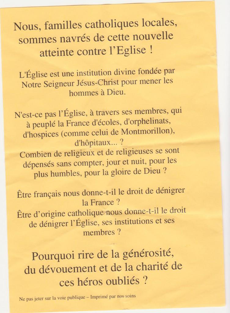 tract distribué