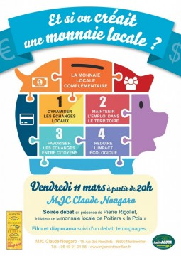 Montmorillon : une monnaie locale pourquoi faire? @ MJC de Montmorillon | Montmorillon | Poitou-Charentes | France