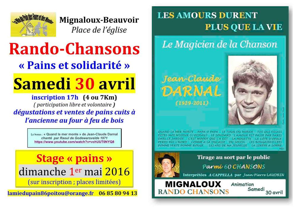 RANDO CHANSON30avril