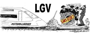 Le Conseil d'État annule la déclaration d'utilité publique des travaux nécessaires à la réalisation de la LGV Poitiers-Limoges