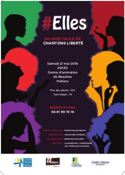 Elles ! par Chantons Liberté @ Centre d'animation de Beaulieu | Poitiers | Aquitaine Limousin Poitou-Charentes | France