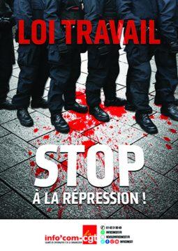 La CGT Police Paris ose s'affirmer pour la liberté d'expression avec info com-CGT.